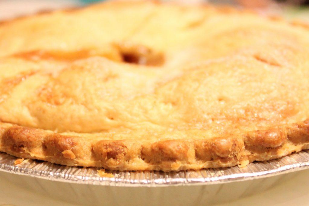 Demarest Farms homemade peach pie
