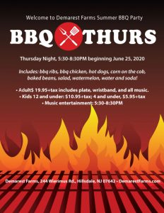 Summer BBQ Thursday Nights