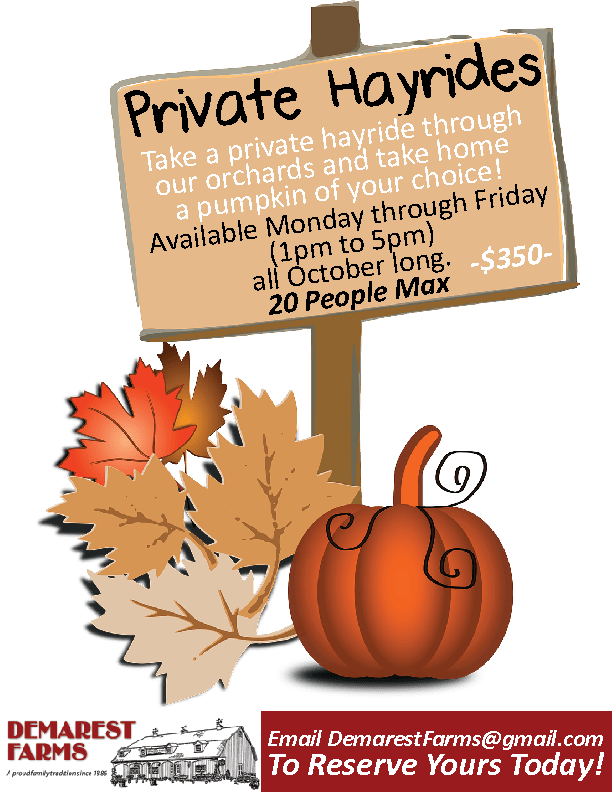 Demarest Farms Private Hayride